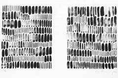 Strich-Menge-2010-Tusche-Lithographie-Aufl.-5-Stck.-Motivgroesse-je-16x20-cm-auf-Buettenkarton-42x30-cm-29