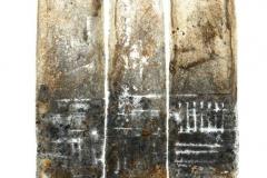 3-Stelen-1995Tondruck-auf-Buettenkarton-26-x-33-cm