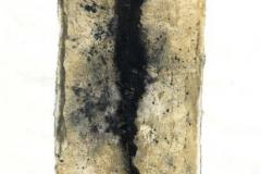 Verschmelzung-1993-Tondruck-auf-Papier-33x45-cm