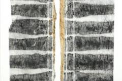 o.T.-Tondruck-auf-Seidenpapier-1996-23-x30-cm-montiert-auf-Zeichenpapier-27x34-cm