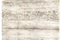 Reihe-Faltungen-17.1.2011-Erdpigmente-auf-Seidenpapier-39x49-cm-mit-Passepartout-56x71-cm
