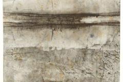 Reihe-o.T.-12.1.2011-Erdpigmente-und-Graphitkreide-auf-Papier-31x39-cm-mit-Passepartout-50x65-cm